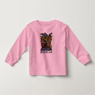 """Jester Kat"" Toddler Long Sleeve Toddler T-Shirt"