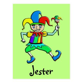 Jester Postcard