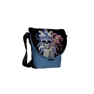 Jester Skull Commuter Bags
