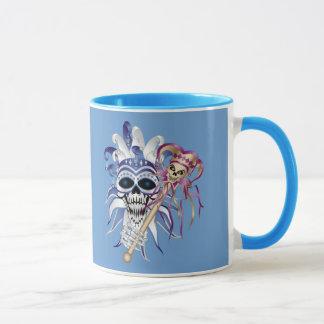 Jester Skull Mug