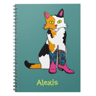 Jester the cat notebook