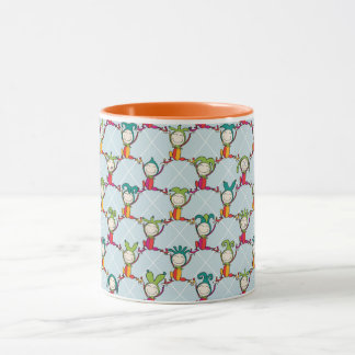 Jesters and Fools Mug Orange