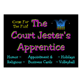 Jester's Calling Card Business Card