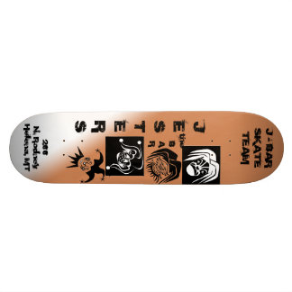 Jesters Skate Team Skate Deck