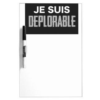 JeSuisDeplorable Dry Erase Board