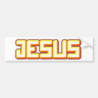 Jesus 3 bumper sticker