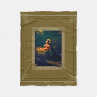 Jesus Agony in the Garden Fleece Blanket