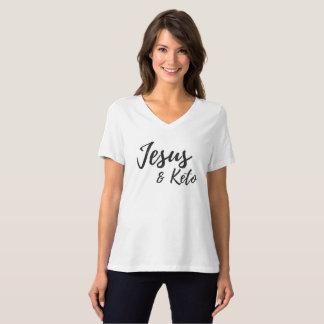 Jesus and Keto Women's Graphic T T-Shirt