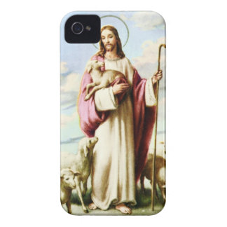 Jesus and Sheeps iPhone 4 Case-Mate Case