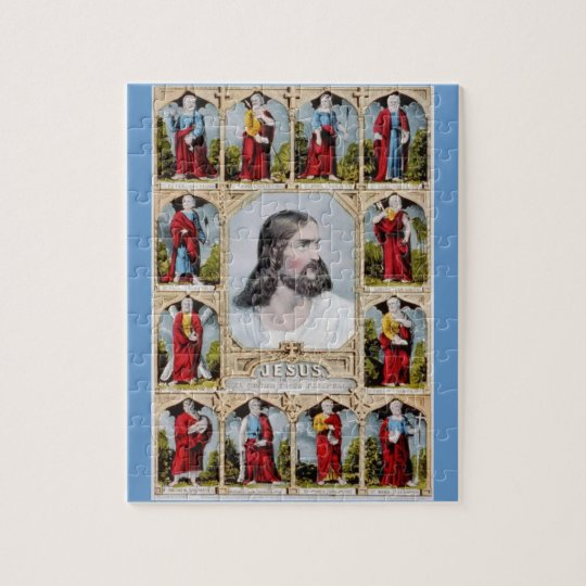 Jesus and the Apostles puzzle