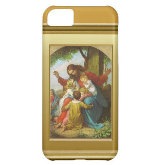 Jesus and the children case for iPhone 5C