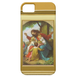 Jesus and the children iPhone 5 covers