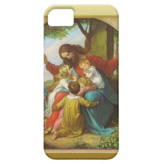 Jesus and the children iPhone 5 case