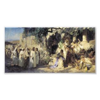 Jesus and the Sinners Photo Art