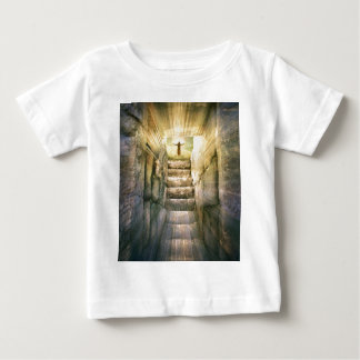 Jesus at Empty Tomb Easter Resurrection Baby T-Shirt