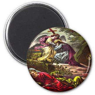 Jesus at Gethsemane Magnet
