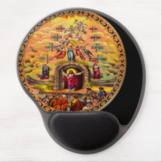 Jesus at Heaven's Gate Gel Mouse Pad