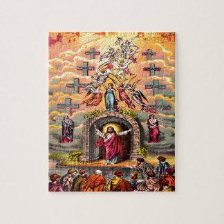 Jesus at Heaven's Gate Puzzle Design
