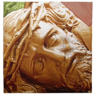 Jesus at rest napkin