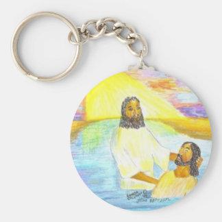 Jesus' Baptism Key Ring