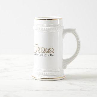 Jesus Beer Stein By Zazz_it