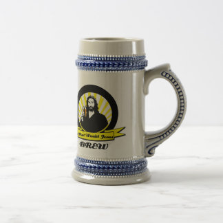 Jesus Brewing Company Beer Stein