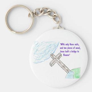 Jesus bridge key ring