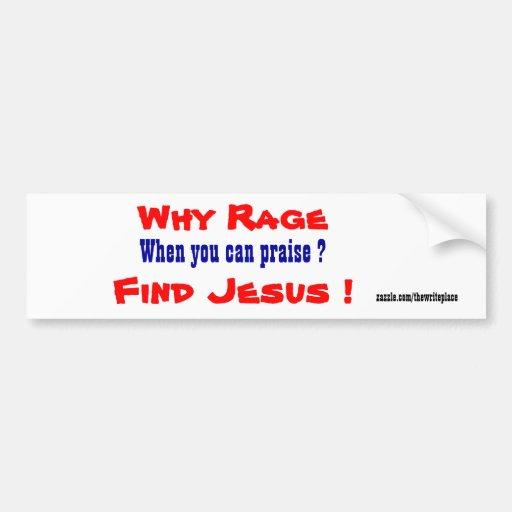 Jesus bumper stickers