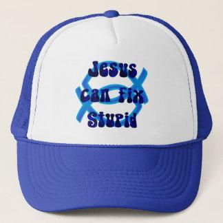 Jesus can fix stupid trucker hat