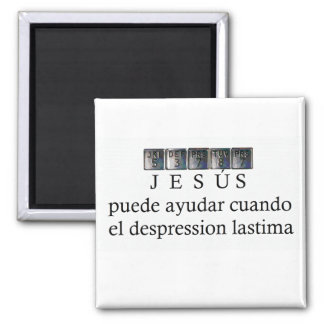 Jesus can help Magnet