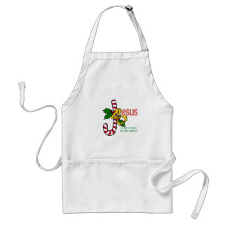Jesus Candy Cane Standard Apron