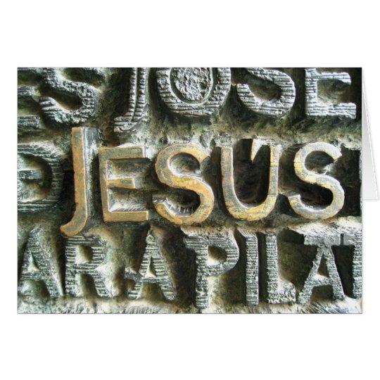 Jesus Card
