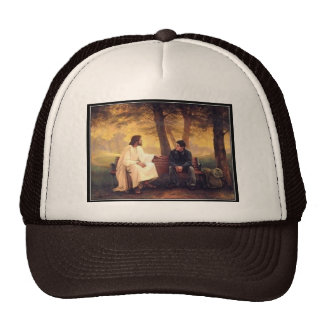 Jesus Cares For Me Hats