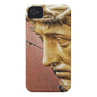 Jesus carrying the cross iPhone 4 case