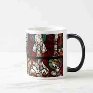 Jesus Christ and Mary, Our Savior is Born Mug
