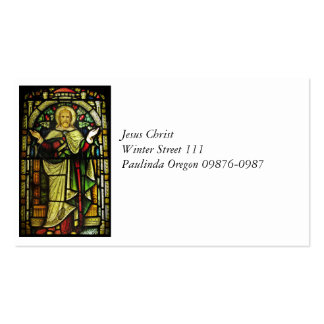 Jesus Christ Arms Outstretched Pack Of Standard Business Cards