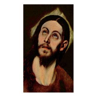 Jesus Christ circa 1580-1585 Business Cards