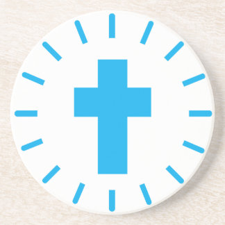 Jesus Christ Cross Coaster