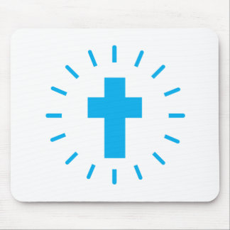 Jesus Christ Cross Mouse Pad