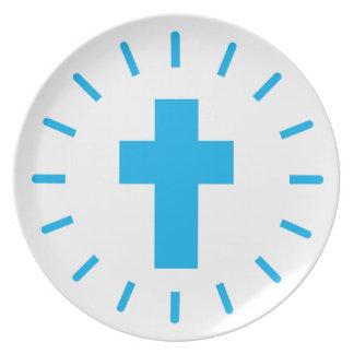 Jesus Christ Cross Plate