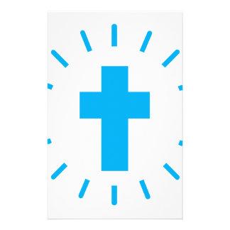 Jesus Christ Cross Stationery