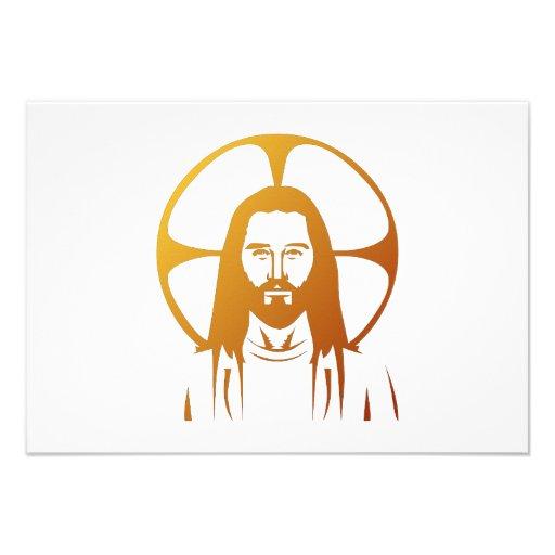 Jesus Christ : God bless you Custom Announcement