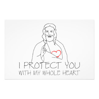 Jesus Christ - I Protect You Photo