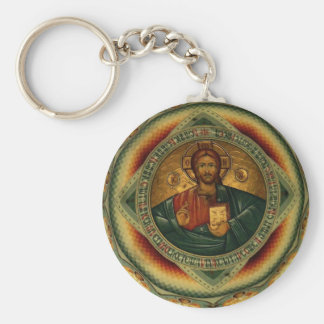 Jesus Christ Iisus Iisus Orthodox Key Chain