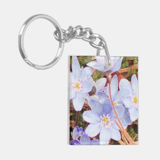 JESUS CHRIST Double-Sided SQUARE ACRYLIC KEY RING