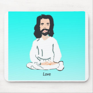 Jesus Christ Love Mouse Pads