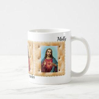 Jesus Christ on a Soda Cracker Cup Coffee Mug NAME