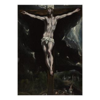 Jesus Christ on the Cross Personalized Invite