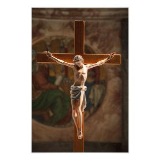 Jesus Christ on the Cross Art Photo
