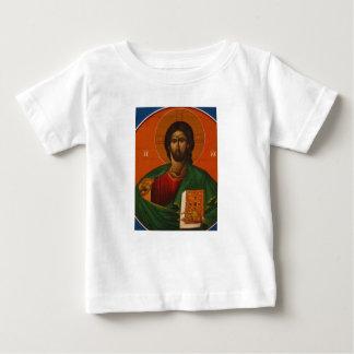 Jesus Christ Orthodox Christian Icon Baby T-Shirt
